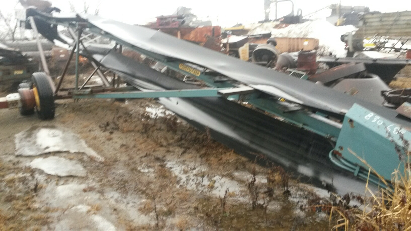 POWERSCREEN M70 60' PORTABLE RADIAL STACKING CONVEYOR-1