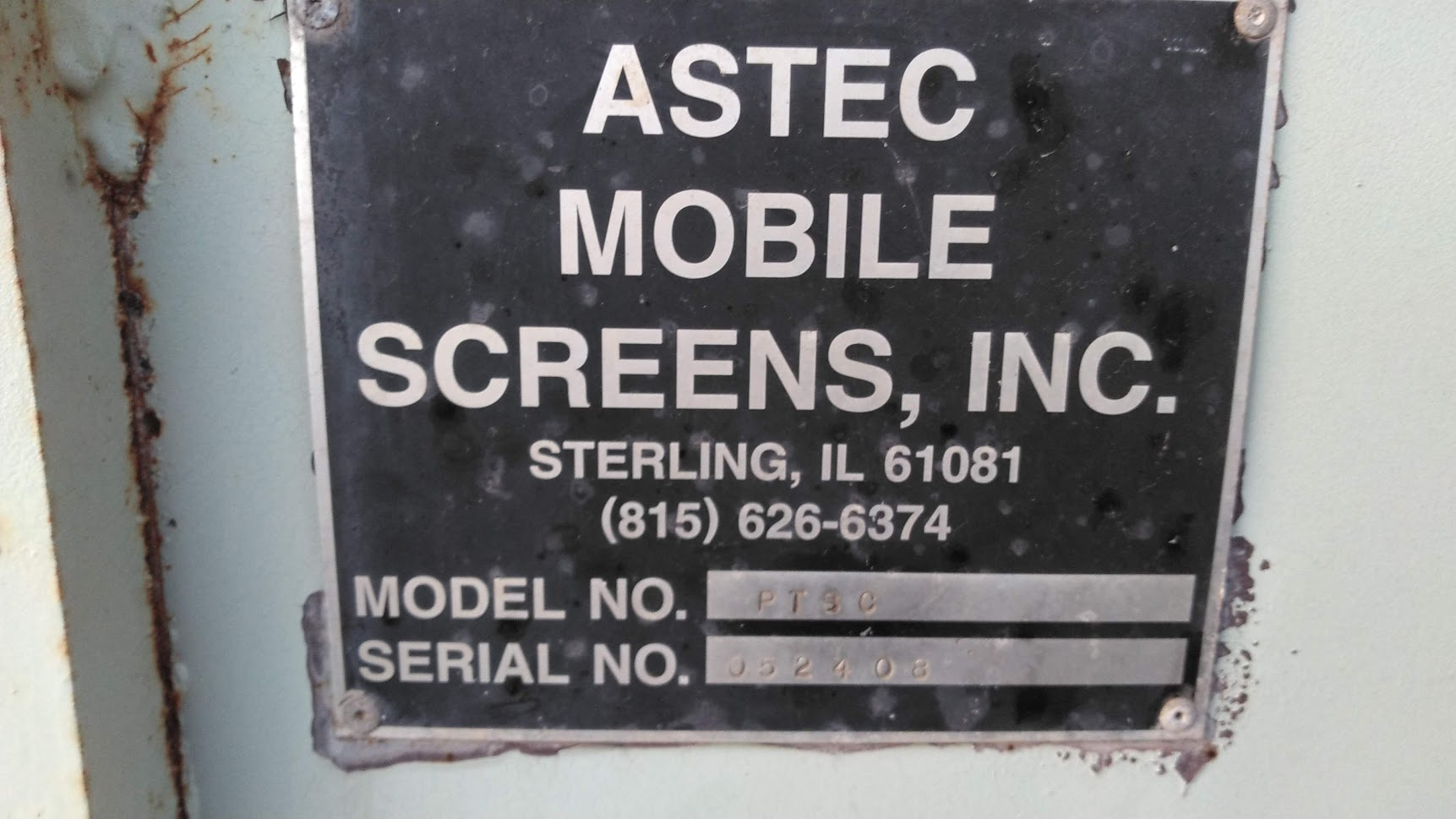 ASTEC PORTABLE MOBIL SCREENING PLANT-6