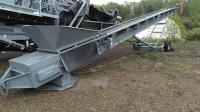 "KOLBERG 24"" X 50' RADIAL STACKER"