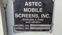 ASTEC PORTABLE MOBIL SCREENING PLANT-5