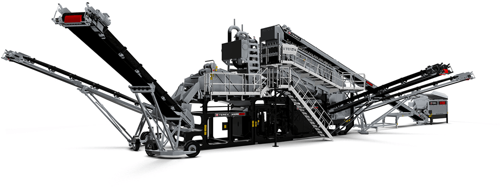 Terex Aggresand machine